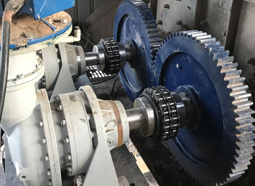 Special Projects: Chain Couplings for Ireland concrete plant